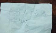 Bé trai bị bỏ rơi tại công viên với lời nhắn Con anh đó anh Hưng
