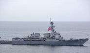 Tàu hải quân Mỹ đi dạo ở biển Đông
