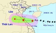 Bão số 4 lại đổi hướng đổ bộ vào khu vực từ Hà Tĩnh đến Quảng Trị