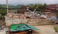 Lốc xoáy trước lúc bão vào, 41 nhà sập và tốc mái, 3 người bị thương