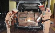 CSGT truy đuổi xe chở gỗ lậu như phim suốt 1 giờ