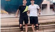 Phan Văn Đức và Trần Đình Trọng khoe ảnh tái khám ở Singapore