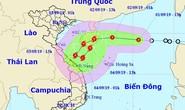 Áp thấp nhiệt đới lao nhanh 20-25 km/giờ, mạnh lên thành bão vào miền Trung