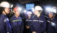 Chủ tịch Tổng LĐLĐ Việt Nam xuống hầm lò  -140 m để nghe tâm tư của thợ lò về tăng tuổi nghỉ hưu