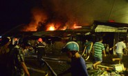 Bình Phước: Chợ thị xã cháy trong đêm, tiểu thương kêu la thất thanh