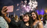 Pháo hoa rực rỡ trên bầu trời TP HCM mừng Quốc khánh 2-9