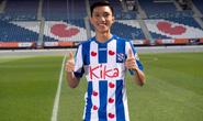 Đoàn Văn Hậu chính thức gia nhập CLB Heerenveen, mặc áo số 15