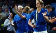Clip Federer - Zverev trình diễn khả năng đánh đôi xuất sắc ở Laver Cup 2019