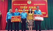 Hà Nội: Tặng 2 Mái ấm Công đoàn cho CNVC-LĐ Sơn La
