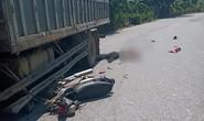 Tông vào hông xe tải, người đàn ông đi xe máy tử vong tại chỗ
