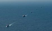Hình ảnh tàu Hải quân Việt Nam tham gia cuộc Diễn tập hải quân ASEAN - Mỹ