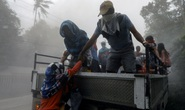 Núi lửa thức giấc, Philippines lo sóng thần