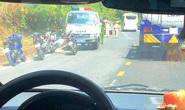 Kịch tính vây bắt 2 tên trộm xe máy trốn trên đèo Bảo Lộc