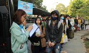 Sinh viên được đưa về quê đón Tết miễn phí