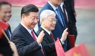 Lãnh đạo Việt Nam trao đổi điện mừng với lãnh đạo Trung Quốc