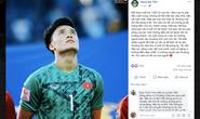 Người đại diện của Bùi Tiến Dũng lại bị chỉ trích khi ủng hộ thủ môn U23 Việt Nam không xin lỗi CĐV