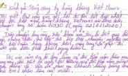 Bức thư của hành khách bị đột quỵ trên máy bay đi TP HCM