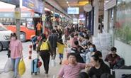 Vạn người vật vã ở Sân bay Tân Sơn Nhất, Bến xe Miền Đông