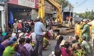 CLIP: Người dân phản đối tháo dỡ cầu cảng ở Phú Quốc, bất chấp hiểm nguy