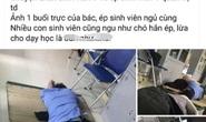 Xôn xao thông tin nam bác sĩ ôm nữ sinh viên thực tập ngủ trong ca trực