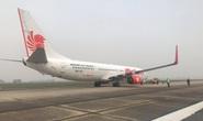 Máy bay nước ngoài hạ cánh xuống Nội Bài vì sự cố kỹ thuật
