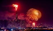 Rực rỡ, đặc sắc pháo hoa giao thừa chào đón năm mới