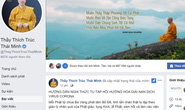Facebook Thích Trúc Thái Minh tiếp tục rao giảng nghi thức tu tập hồi hướng hóa giải nạn dịch virus Corona