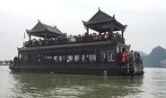 200.000 đồng/lượt đi thuyền trên hồ Tam Chúc, du khách vẫn chen nhau lên thuyền