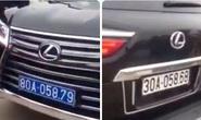 Xác minh xe sang Lexus LX570 đầu đeo biển xanh 80A, đuôi đeo biển trắng