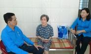 Chương trình Xuân nhân ái - Tết yêu thương: Trao 4 phần quà cho công nhân bị TNLĐ ở miền Tây