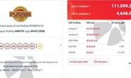 Vé Vietlott trúng hơn 111 tỉ đồng bán ở Đông Nam Bộ