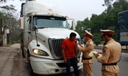 Kiểm tra 300 xe ôtô, CSGT Thanh Hóa không phát hiện tài xế nào uống rượu bia