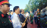Hoàn thành nâng cấp di tích Đền liệt sĩ Núi Quế - Anh Linh Đài