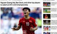Quang Hải lọt danh sách đáng xem nhất tại VCK U23 châu Á 2020