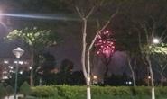 Truy tìm nhóm đối tượng tổ chức bắn pháo hoa trái phép cạnh UBND quận