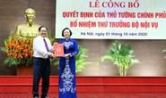 Bộ trưởng Lê Vĩnh Tân nói về việc bổ nhiệm bà Phạm Thị Thanh Trà làm Thứ trưởng Bộ Nội vụ