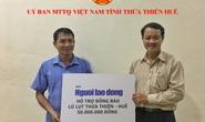 Cùng Báo Người Lao Động cứu trợ đồng bào miền Trung