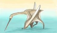 Quái thú đầu cò, mình khủng long, cánh dơi xuất hiện ở Thổ Nhĩ Kỳ