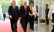 Hình ảnh lãnh đạo, nguyên lãnh đạo Đảng, Nhà nước dự khai mạc Đại hội Đảng bộ TP HCM