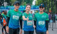 Diễn viên Xuân Nghị, Thanh Sơn lần đầu chạy thi cùng hot girl thời tiết Mai Ngọc của VTV