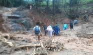 [VIDEO]: Băng rừng vào cứu nạn 20 cán bộ, chiến sĩ thuộc sư đoàn 337 nghi bị vùi lấp