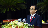 Tân Bí thư Thành ủy TP HCM Nguyễn Văn Nên phát biểu nhận nhiệm vụ