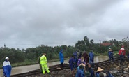 LƯU Ý: Đường sắt hủy bỏ một số chuyến tàu do mưa lũ