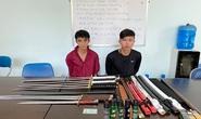 Bắt 2 đối tượng chở cả bao tải mã tấu từ TP HCM xuống Đồng Nai