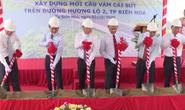 Khởi công cầu Vàm Cái Sứt, kết nối vùng sân bay Long Thành với trung tâm TP HCM
