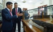 Đại sứ Mỹ thăm di tích lịch sử Bạch Đằng