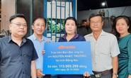 Báo Người Lao Động trao hơn 172,5 triệu đồng cho 2 trường hợp cần giúp đỡ