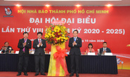 Ông Trần Trọng Dũng tái đắc cử Chủ tịch Hội Nhà báo TP HCM