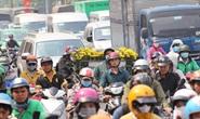 Ùn tắc triền miên quanh sân bay Tân Sơn Nhất