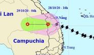 Bão số 9 suy yếu thành áp thấp nhiệt đới, tâm ra khỏi nước ta